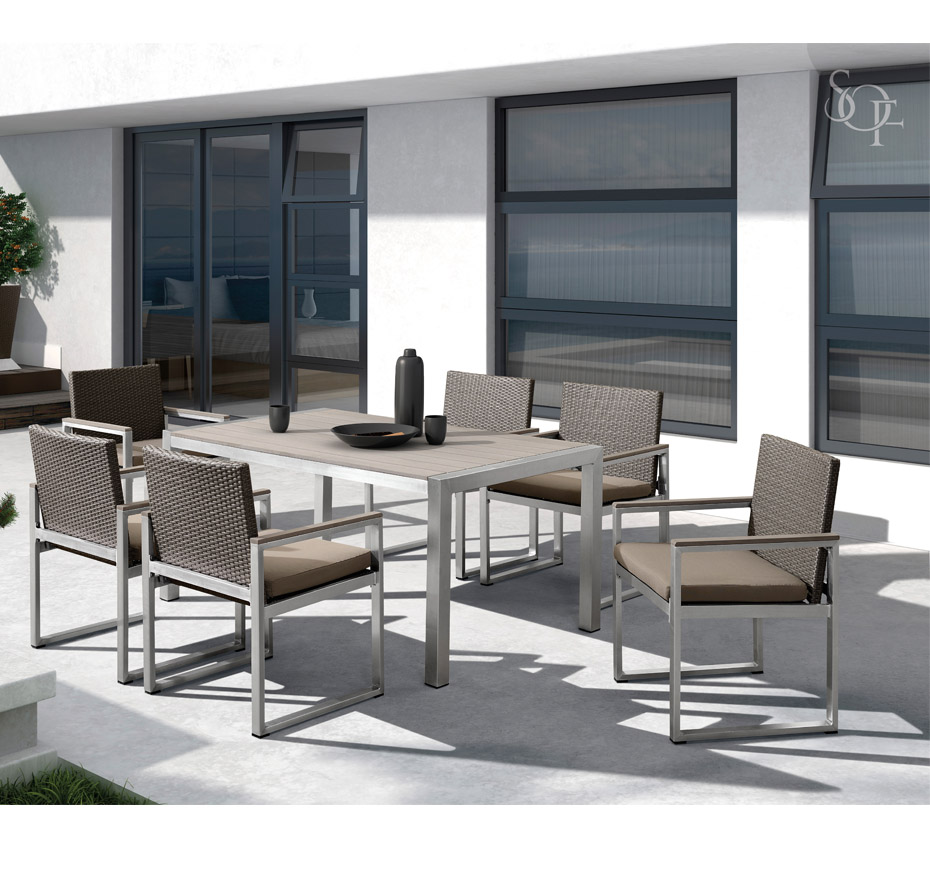 Silhouette Outdoor Furniture Dining Salinas Collection
