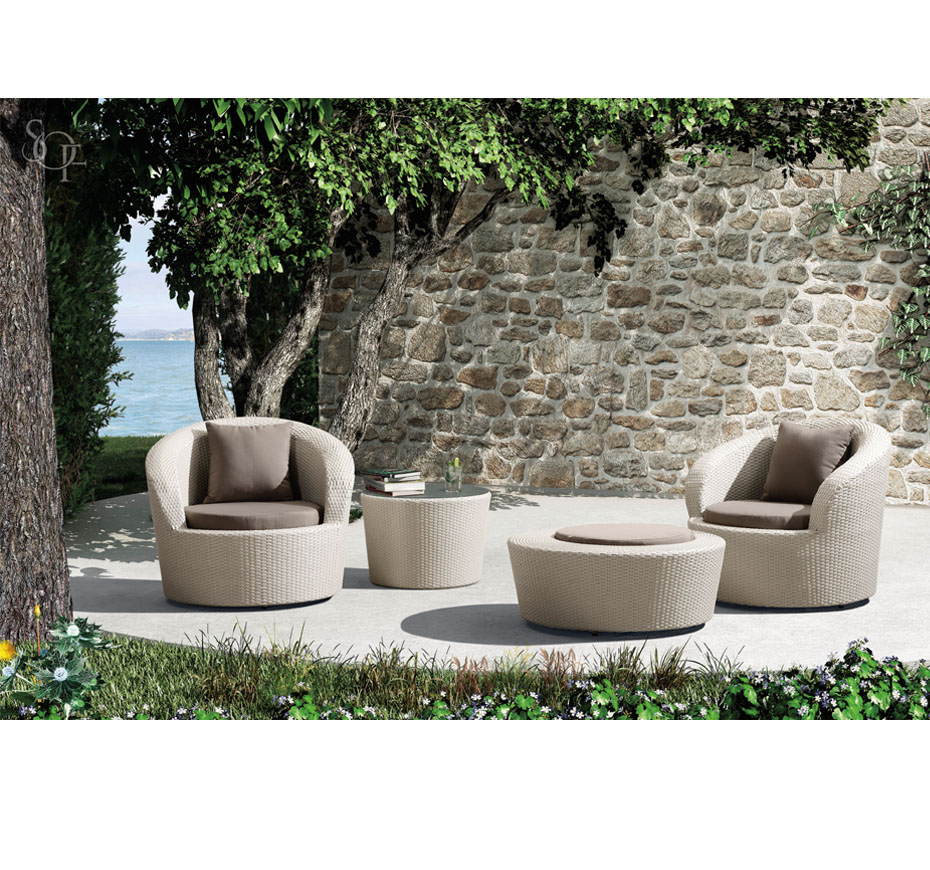 Silhouette Outdoor Furniture Lounging Almada Collection