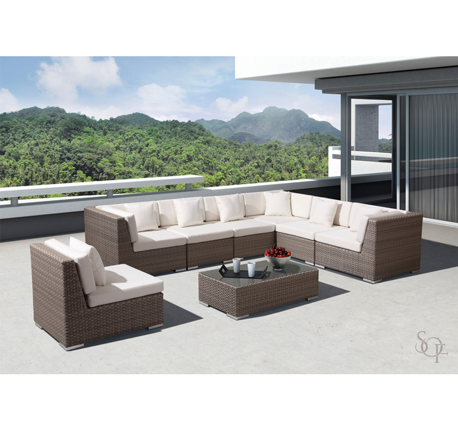 Silhouette Outdoor Furniture Sectionals Breckenridge Collection