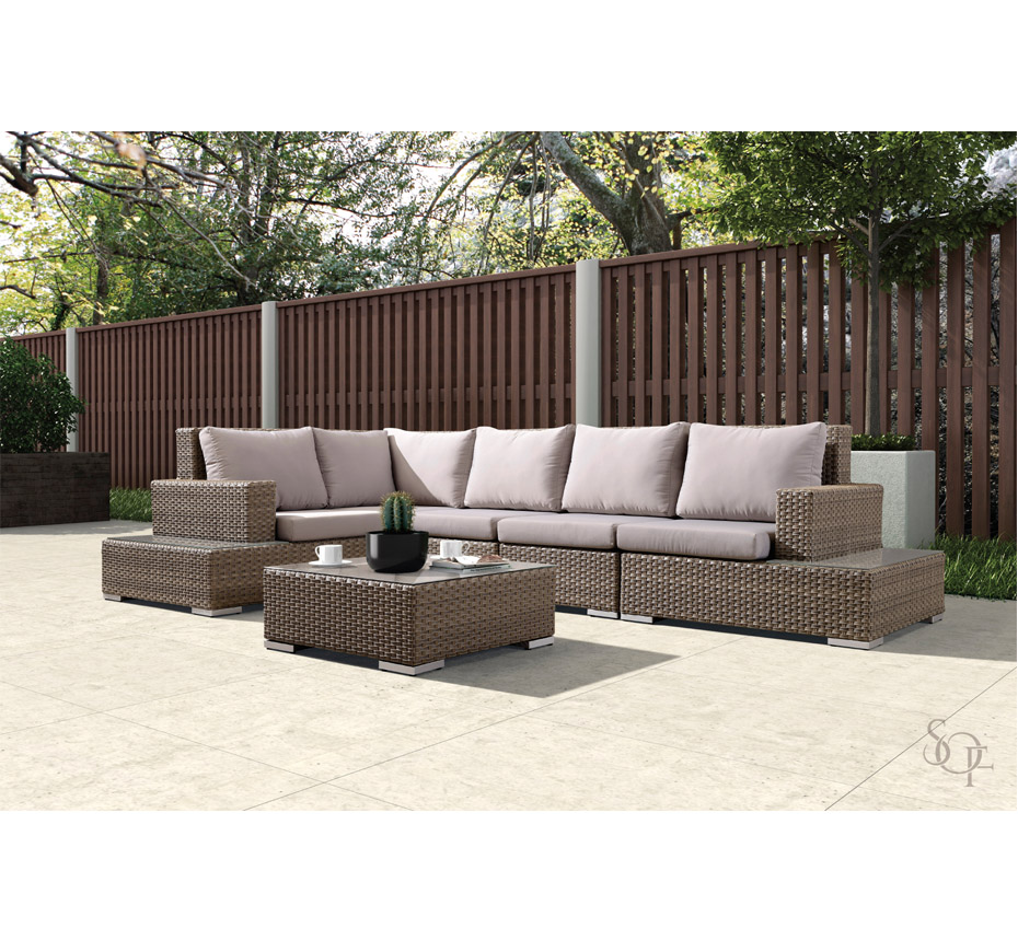 Silhouette Outdoor Furniture Sectionals Mallorca Collection